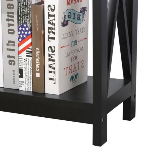 Console Table Espresso Display Living