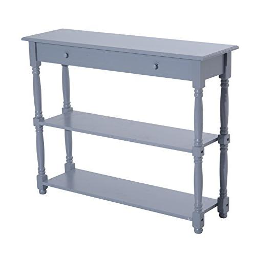 HomCom Entryway Console Table