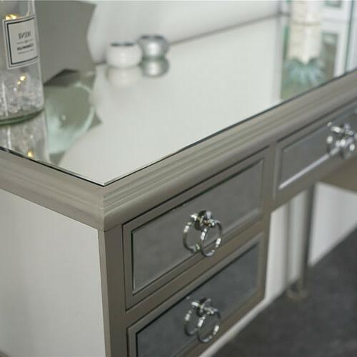 New Mirrored Console Table Makeup Desk with