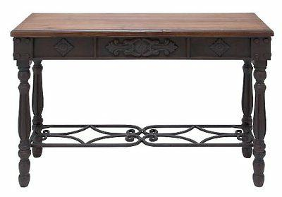 Deco 79 52788 Wood and Metal Desk  42 by 30-Inch