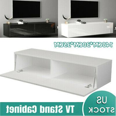 55 high gloss tv stand cabinet console