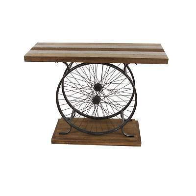 Deco 79 and Wood Console, Brown/Black