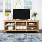 70-inch Pine Barnwood TV Media Stand Television Media Consol