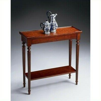 7036024 plantation cherry console table