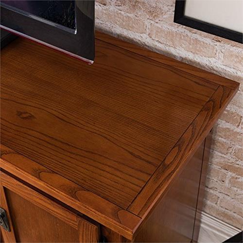 Leick 82560 Contemporary Canted Side Oak Four