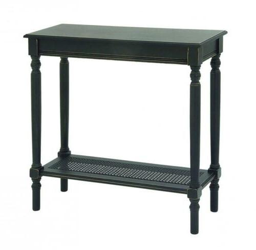 96381 wood console table 31 x 32