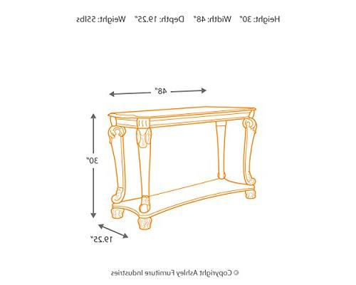 Ashley Furniture Signature Design - Norcastle Sofa Table