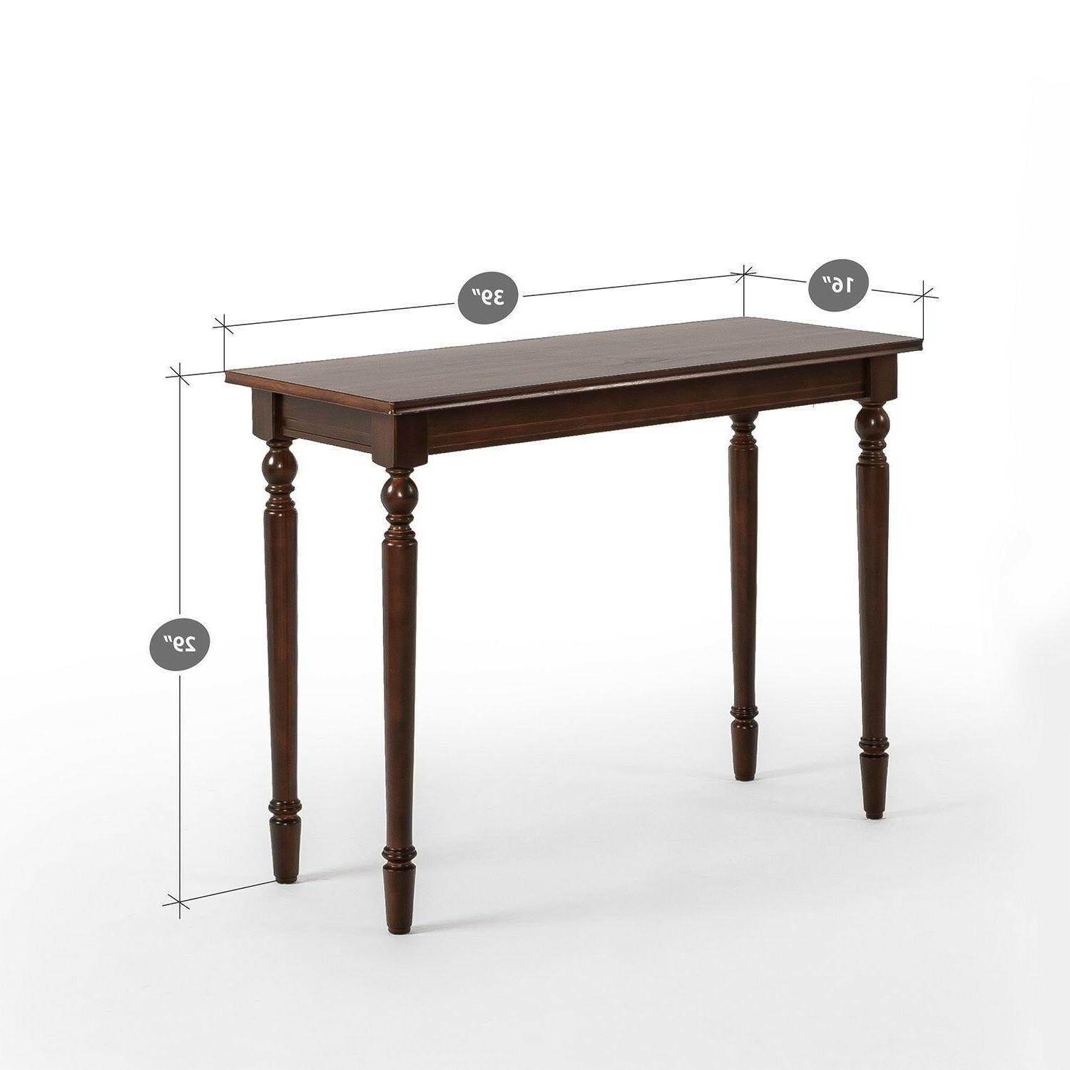 Bordeaux Console Table / / Decoration for