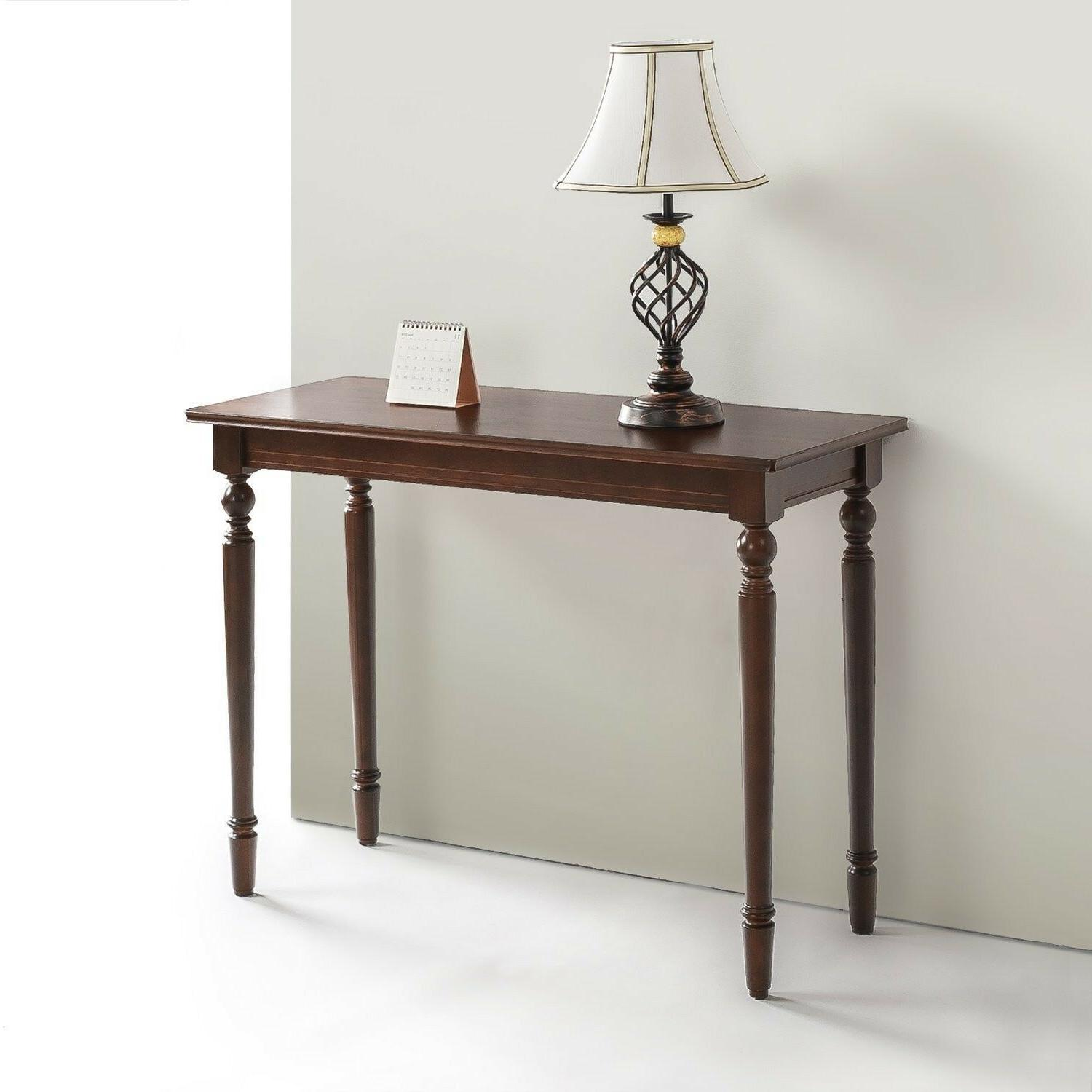 Bordeaux Wood Console Table / Entryway / Table,Perfect Decor