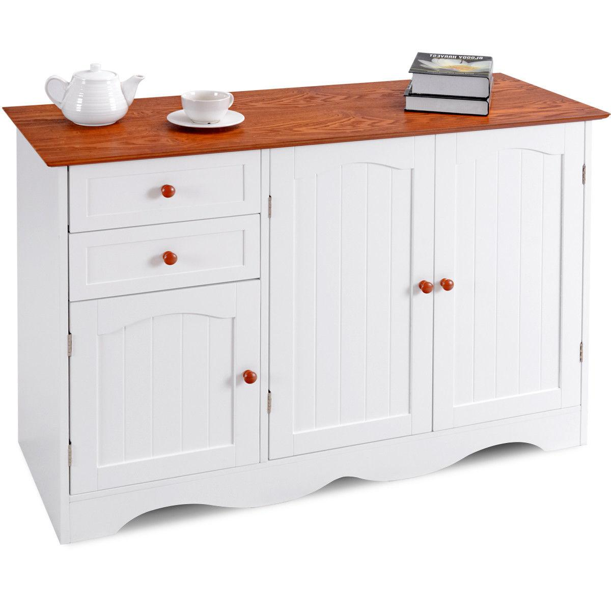 Buffet Storage Cabinet Console Table Kitchen Sideboardd Home