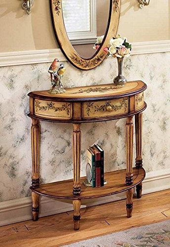Butler Console Table Hand Painted Finish