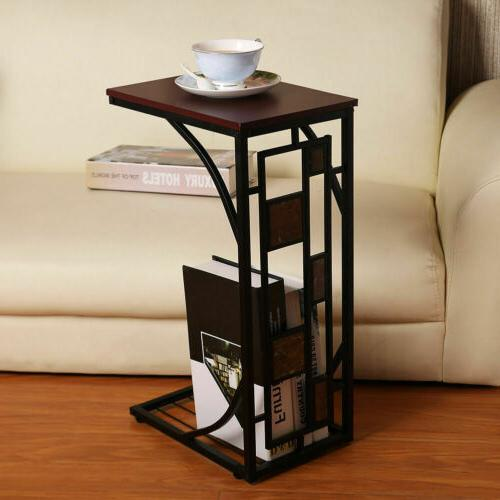 Coffee Tray Sofa Side Table Ottoman Couch Room Console Stand