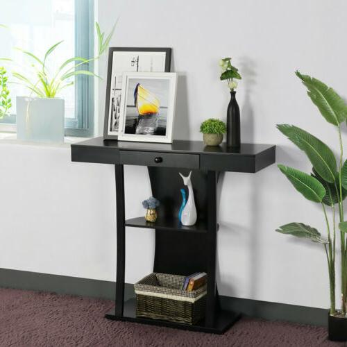 Console Sofa Side Table Living Room Pedestal Entry Hallway T