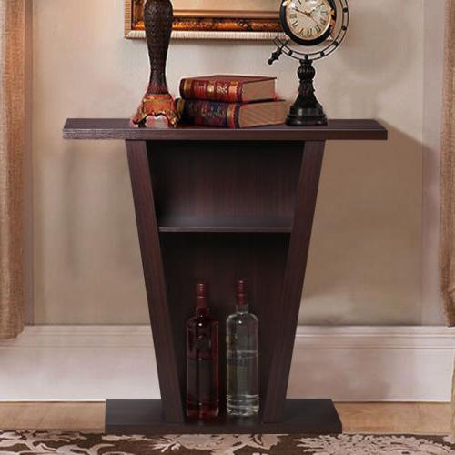 Console Table Accent Side End Way Hallway Shelf