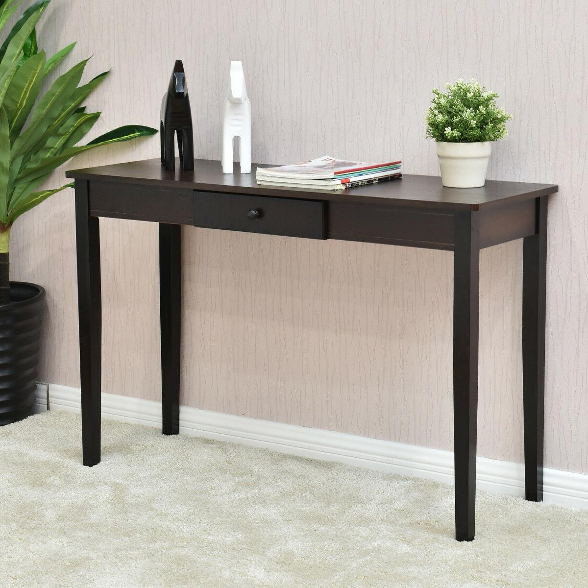Console Table Entryway Side Sofa Table Drawer