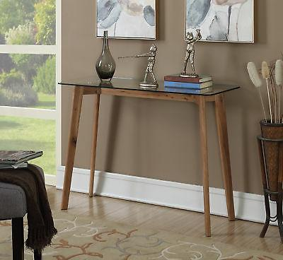 Convenience Concepts Clearview Console Table, Glass