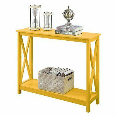 Convenience Oxford Rectangle Console Table
