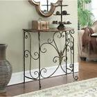 Entryway Console Table Hallway Living Room Furniture Black A