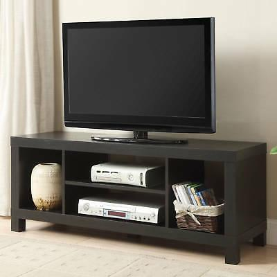 """42"""" Flat Screen TV Stand Wood Storage Cabinet Home Media Con"""