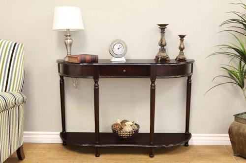 Frenchi Home Furnishing Console Sofa Table with Drawer, Expr