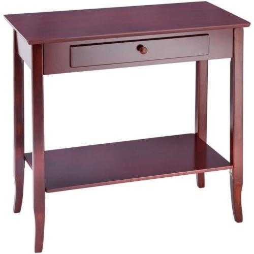 Classic Shelf w/Drawer Living Room Furniture