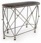 MacKenzie Childs Honeycomb Console Table New W Tags