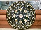 Marble Console Table Top Beautiful Floral Rare Inlay Outdoor