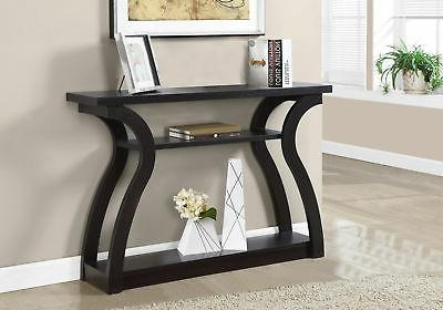 Incredible Monarch Specialties I 2445 Hall Console Accent Table Cappuccino 47L Interior Design Ideas Inesswwsoteloinfo