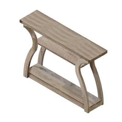 Monarch Specialties I 2446, Hall Console, Accent Table, Dark