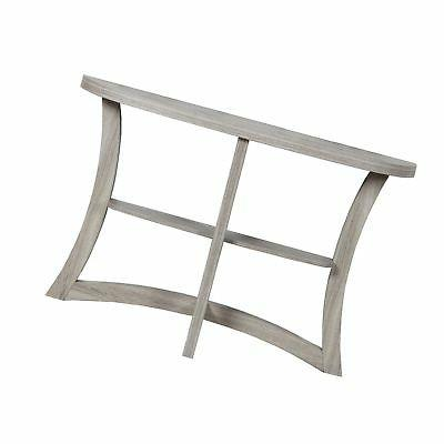 """Monarch Two Tier Hall Console Accent Table, 47"""", Dark Taupe"""