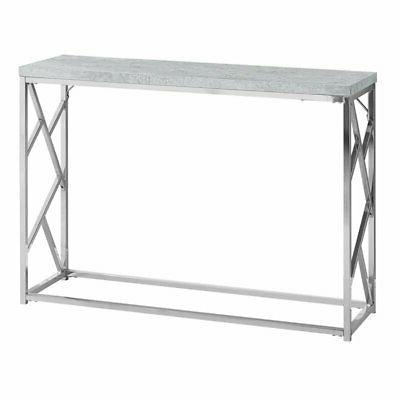 Pemberly Row Console Table in Gray Cement