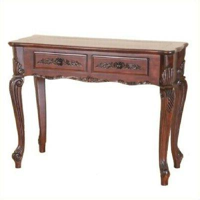 Pemberly Row Console Table in Walnut Stain