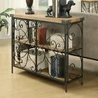 Rustic Console Table Foyer Table Narrow Tables Sofa Wood Met