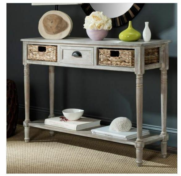 Rustic Wood Baskets Kitchen NEW