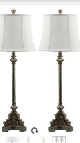 Safavieh Lighting Collection Rimini Console Antique Silver 3