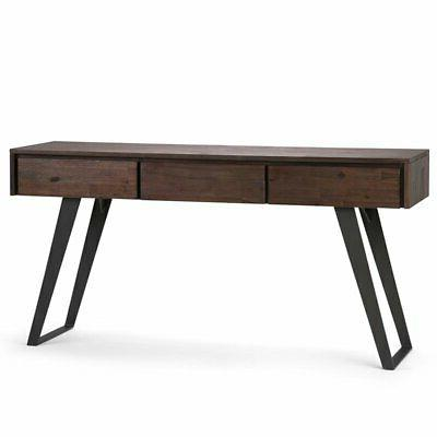 Simpli Home Lowry Console Table