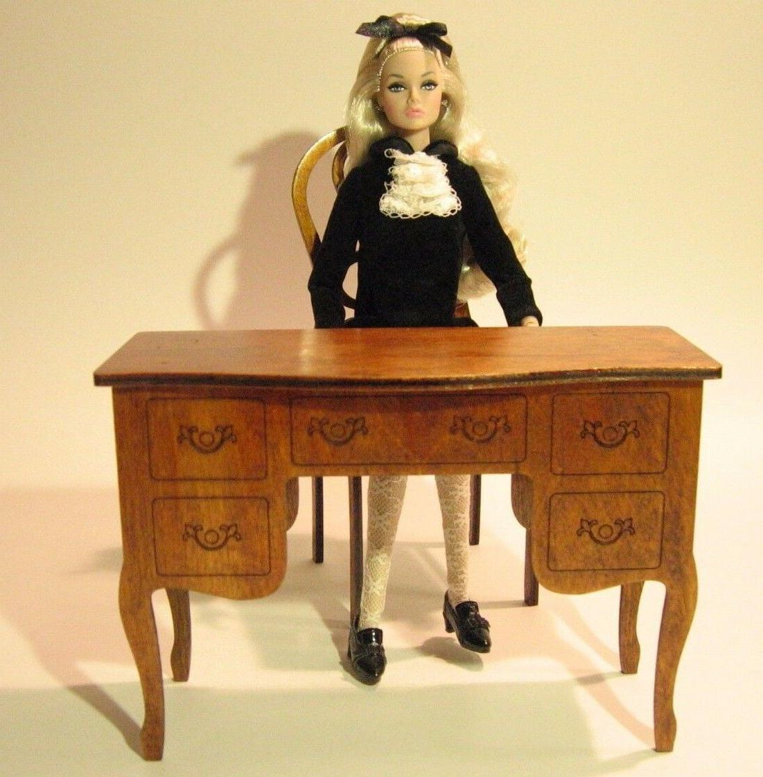 Table console for doll Barbie FR IT 1:6 12 inch OOAK diorama