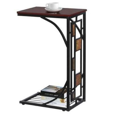 US Coffee Tray Side Sofa Table Ottoman Couch Room Console St