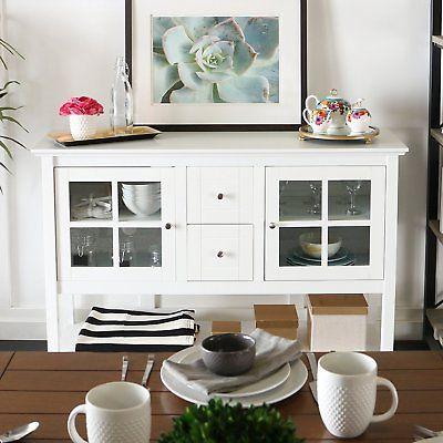 WE Furniture Console Table TV