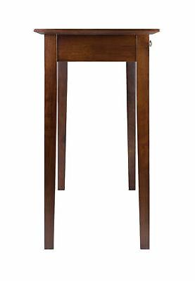 Winsome Console Table Walnut Finish