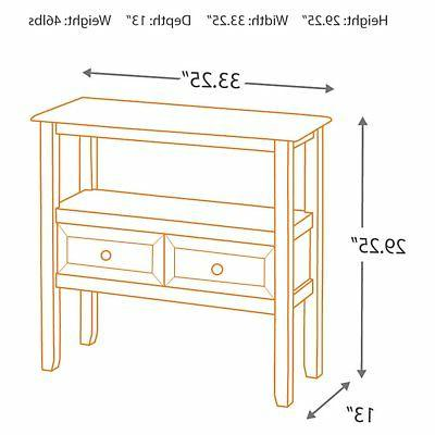 Signature by Abbonto 2 Console Table