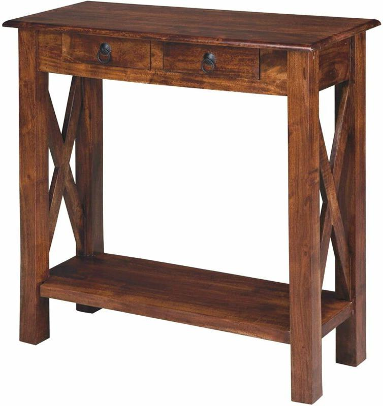 abbonto console sofa table casual warm brown