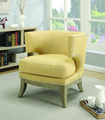 Accent Chair Bumblebee Yellow 902562