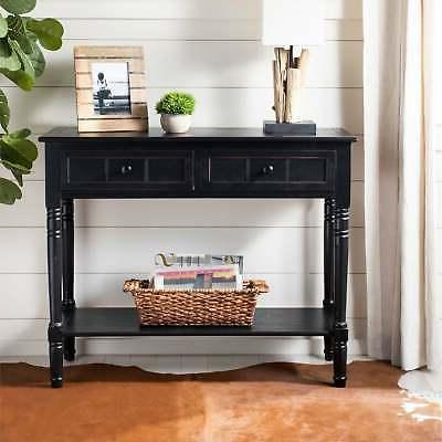 american home collection console table