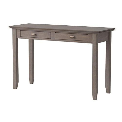 Simpli Artisan Solid Wood Console Natural