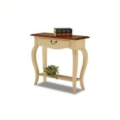 bentwood display shelf console table