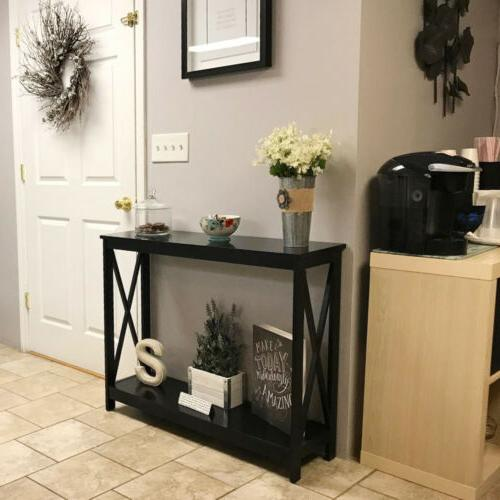 Console Modern Side Stand Entryway Hall Storage