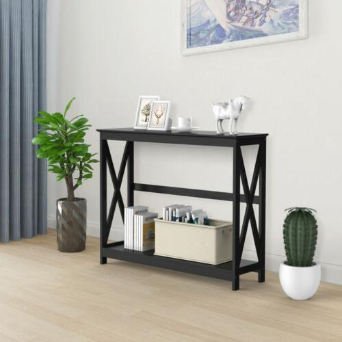 Console Table Modern Side Sofa Entryway Hall Display