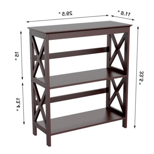 Bookcase Side Table Display Stand