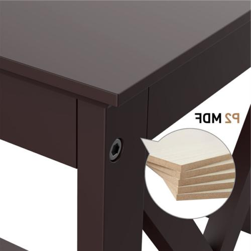 Bookcase Side Table Storage Display Stand
